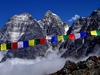 Mera Peak Prayer Flags - Nepal Himalayas