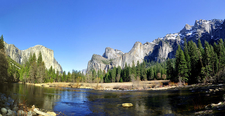 The Merced River In Yosemite Valley