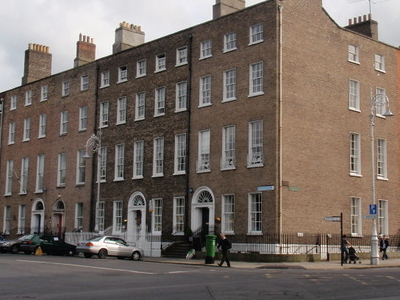 Townhouses Around Merrion Square