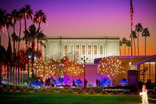 Mesa Temple At Christmas