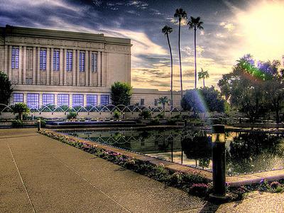 Mesa Temple Center Garden