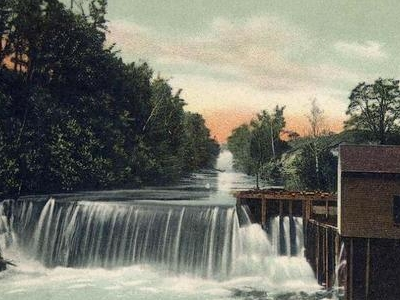 Messalonskee  Stream  Cascade