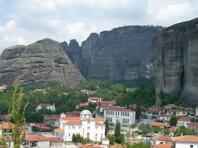 Meteora With View Over  Kastraki