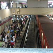 Metro Chapultepec Track