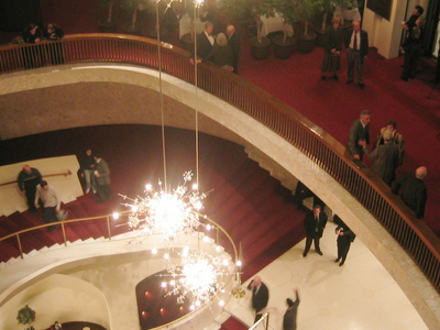 Lobby Staircase From Above