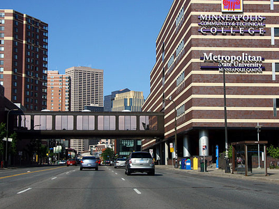 Metro State Shares Campus With Community And Tech College In Minneapolis