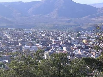 Zitácuaro Seen From The Cerrito De La Independencia