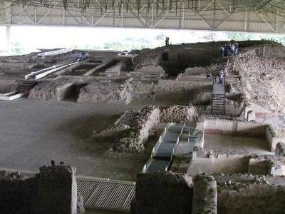 The Ruins At Cacaxtla