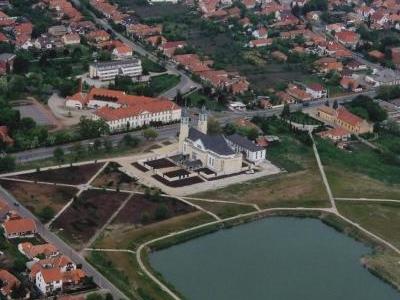 Mezokovesd's Aerial View