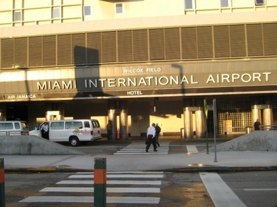 Miami International Airport Front