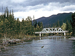 Medio Tenedor río Flathead