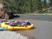 Medio Tenedor Salmon River
