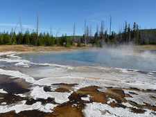 Midway Geyser Basin Trail - Yellowstone