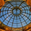 Milaan Vittoria Oldest Mall Glass Ceiling