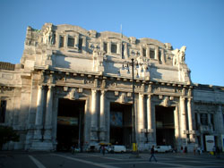 Milan Central Station Front