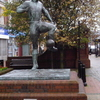 Milburn Statue