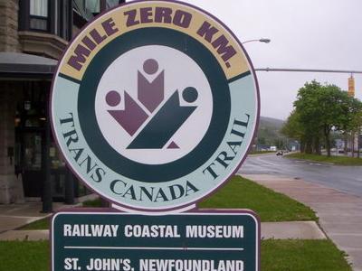 Mile Zero Signpost At The Railway Coastal Museum