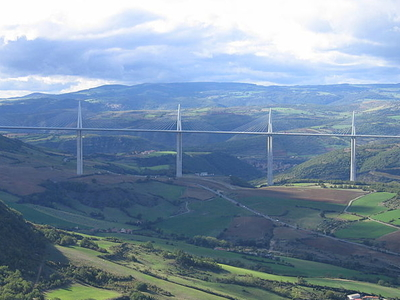 Millau Viaduct Overall View