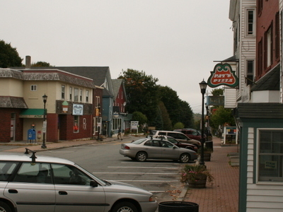 Mill Street Business In Downtown Orono