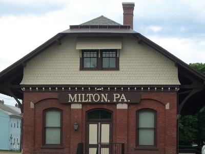 Miltons Old Railroad Depot