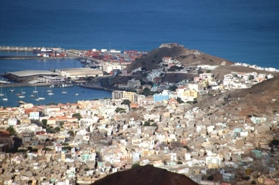Mindelo View From Monte Verde