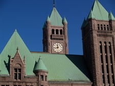 City Hall With Current Copper Roof