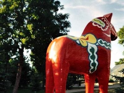 Minot   Dala Horse