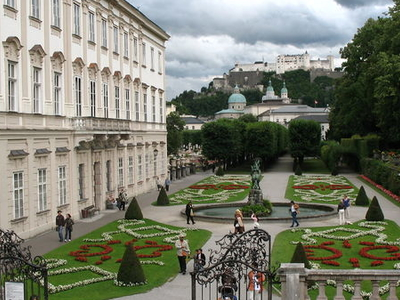 Mirabell Palace With Gardens