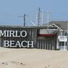 Mirlo Beach Sign
