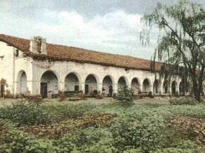 Mission  San  Fernando  Postcard