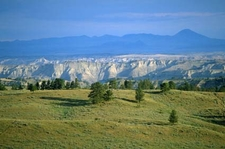Missouri River Carved The Breaks Into The Montana Landscape