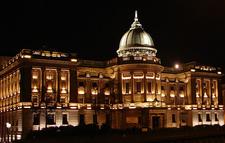Mitchell Library At Night - UK