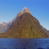 Mitre Peak From Milford Sound - Southland NZ
