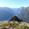 Mitre Peak View With Milford Sound NZ