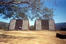 Mixco Viejo Twin Pyramids- Chimaltenango Department - Guatemala