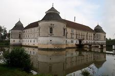 Moated Castle Of Aistersheim, Upper Austria, Austria