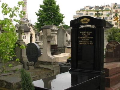 Grave Of Bao Dai, Passy Cemetery