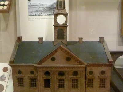 Model Of The  Old  Townhouse