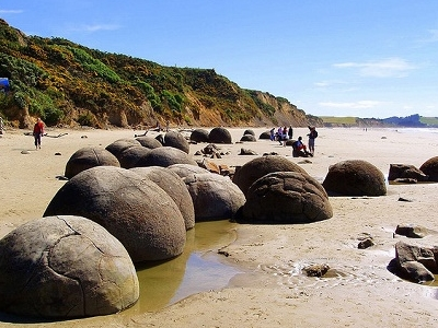 Moeraki Boulders & Beach - Otago NZ