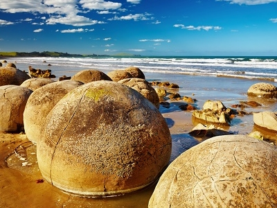 Moeraki Boulders - South Island NZ
