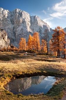 Mojstrovka From Sleme In Julian Alps