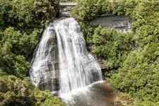 Mokau Falls @ Urewera NP - North Island NZ