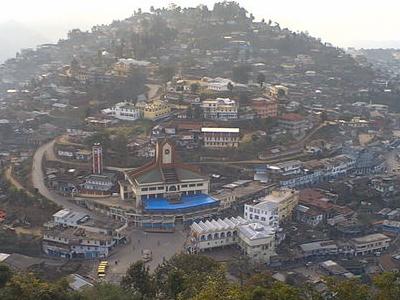 Mokokchung View