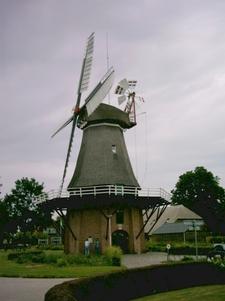 Windmill De Sterrenberg In Nijeveen