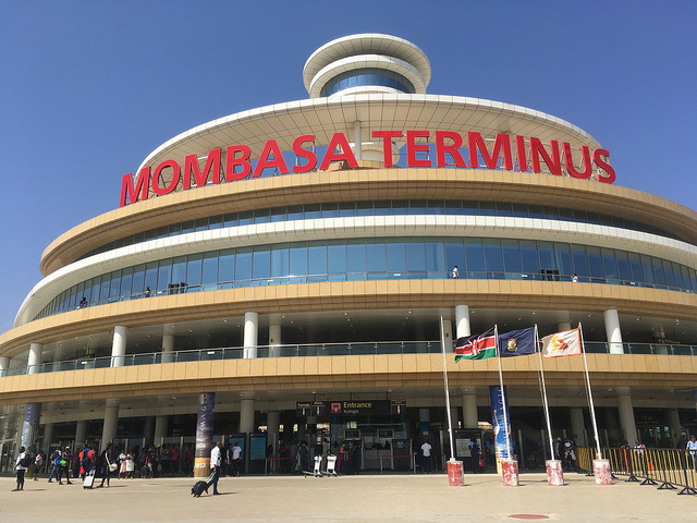 Madaraka Express Train (SGR) Transfer Photos
