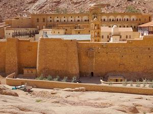 St. Catherine Monastery Fotos