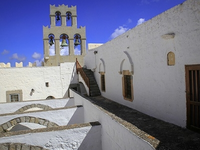 Monastery Of St. John - Terrace & Bell Tower