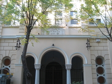 Exterior Of Synagogue From Street