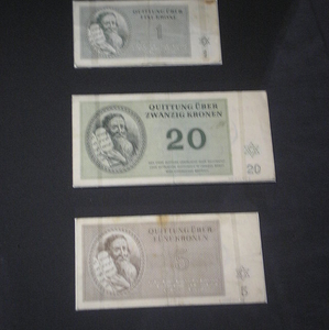 Money Used In The Terezin Ghetto