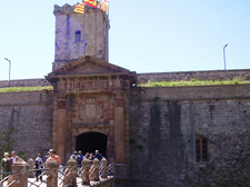 Fortress At Montjuic